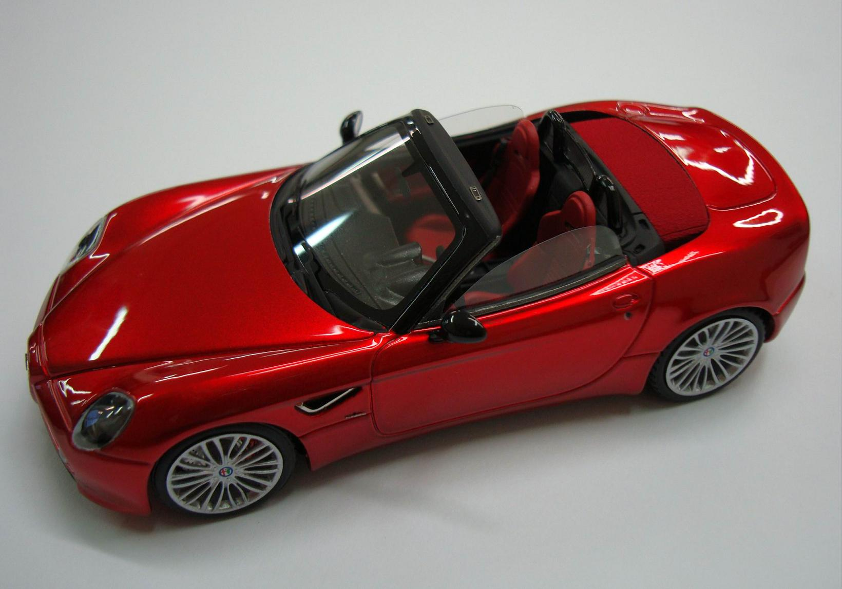 Alfa Romeo Archives Page 2 Of 3 Looksmart Models Paint Codes 8c Competizione Spider 143