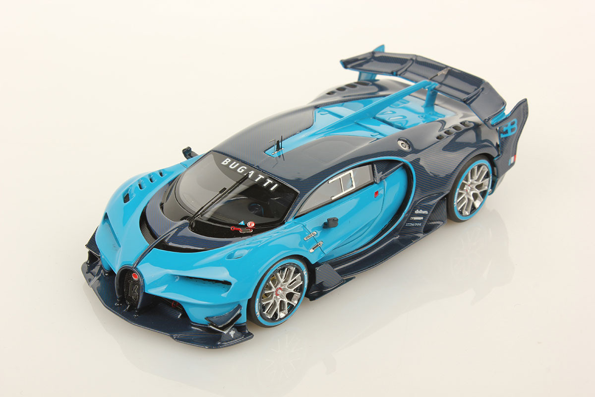 bugatti vision gt 1 43 looksmart models. Black Bedroom Furniture Sets. Home Design Ideas