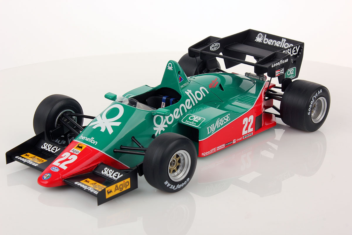 Alfa Romeo 184t Benetton 1984 1 18 Looksmart Models