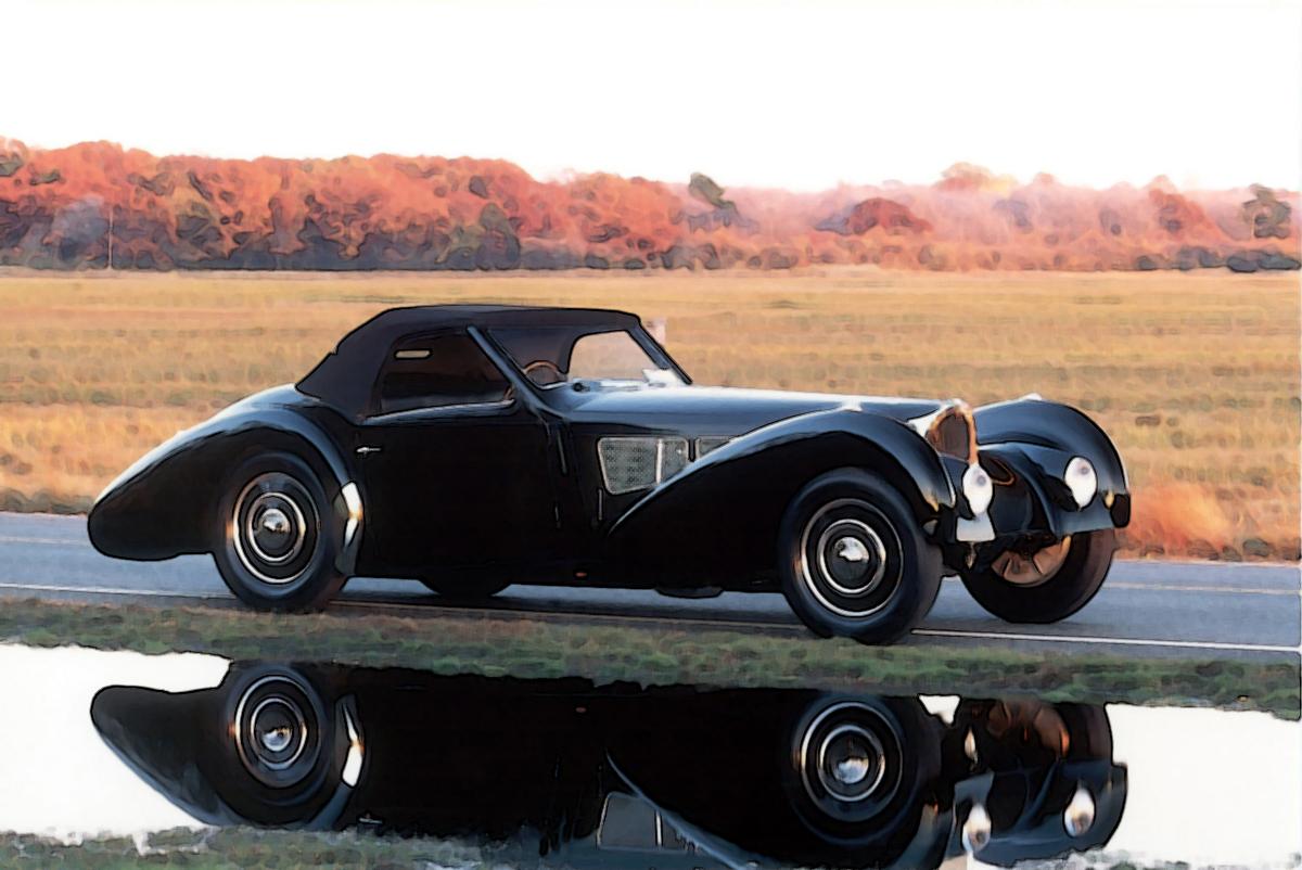 Bugatti Type 57 Sc Gangloff Roadster 1 18 Looksmart Models