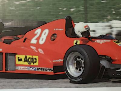 FERRARI 126 C2B 1983