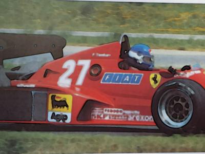 FERRARI 126 C3 1983