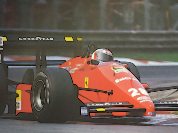 1988 Ferrari F1 Car Pictures - Car Canyon