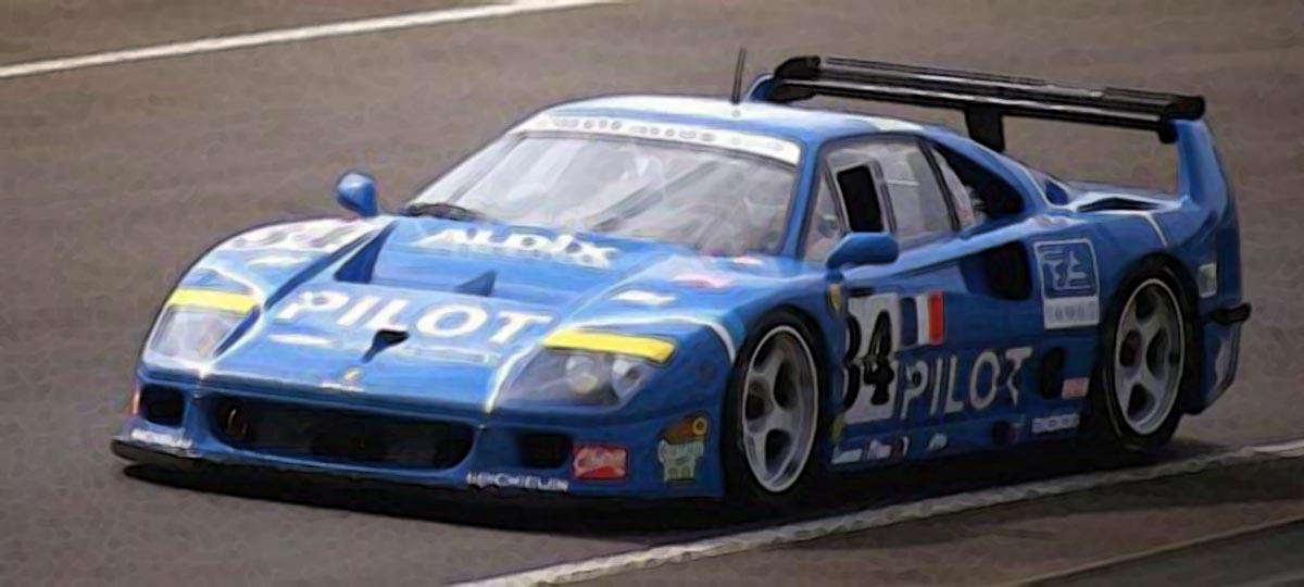 Ferrari F40 24h Le Mans 1995 Pilot 118 Looksmart Models