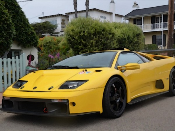 lamborghini diablo gtr 1 18 looksmart models. Black Bedroom Furniture Sets. Home Design Ideas