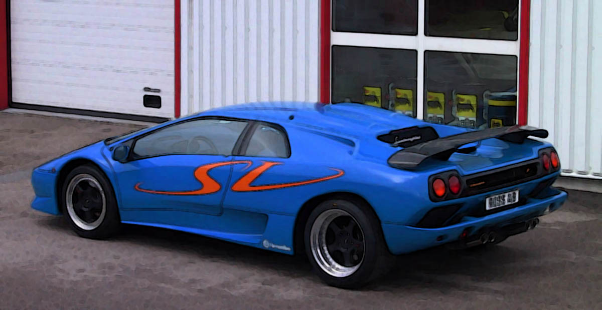 Lamborghini Diablo SV 118  Looksmart Models