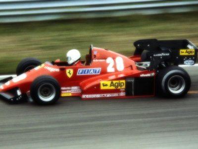 Ferrari 126 C3 Dutch GP 1983 R. Arnoux Winner scale 1:18