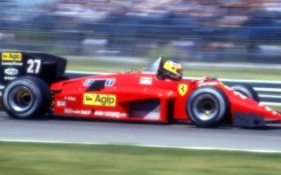 Ferrari 156/85 Canada GP 1985 M. Alboreto Winner scale 1:18