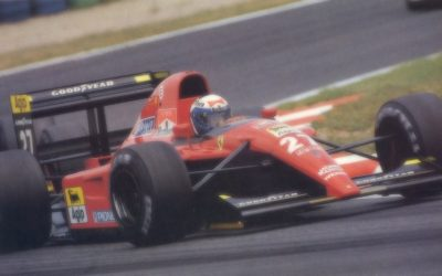 Ferrari 643 French GP 1991 A. Prost 2nd Place scale 1:18