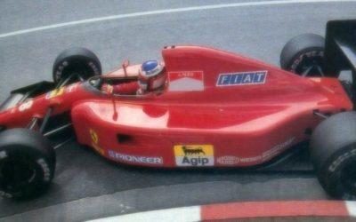 Ferrari 642 Monaco GP 1991 J. Alesi 3rd Place scale 1:18