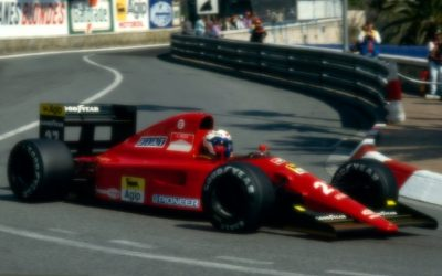 Ferrari 642 Monaco GP 1991 A. Prost 5th Place scale 1:18