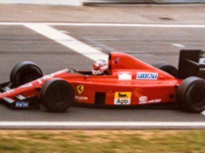 Ferrari F1 640 Hungary GP 1989 N. Mansell Winner scale 1:18