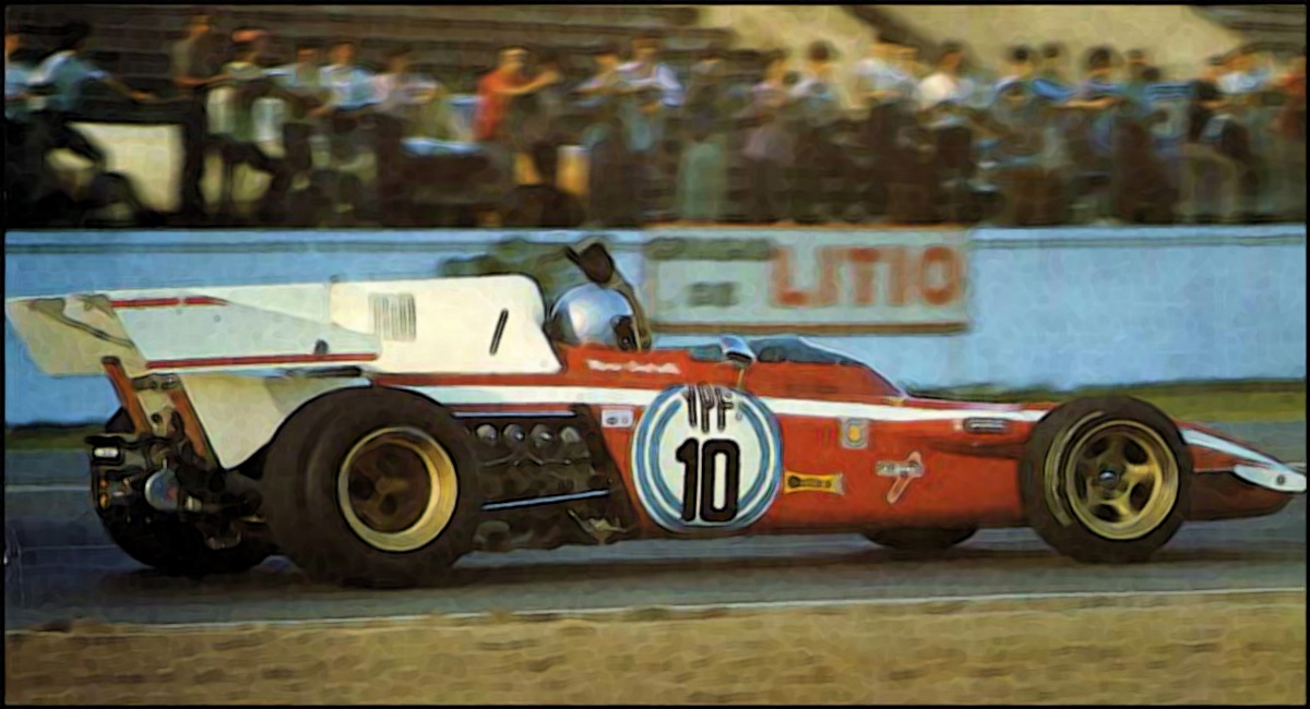 Ferrari 312 B2 Argentina Gp 1972 1 43 Looksmart Models