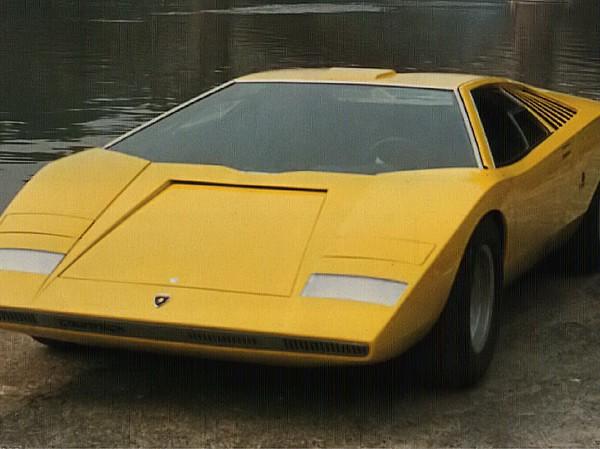 Lamborghini Countach Prototipo 1:18