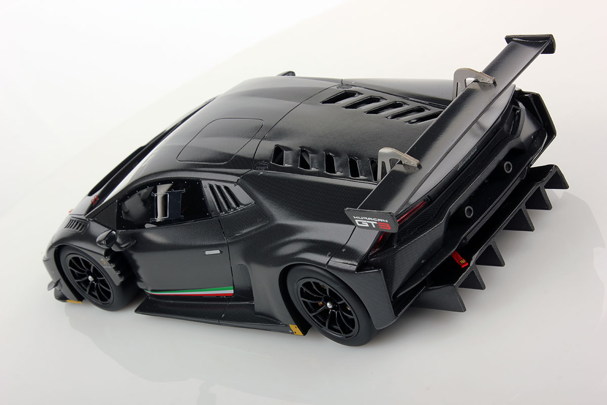 lamborghini hurac n gt3 full carbonium 1 18 looksmart models. Black Bedroom Furniture Sets. Home Design Ideas