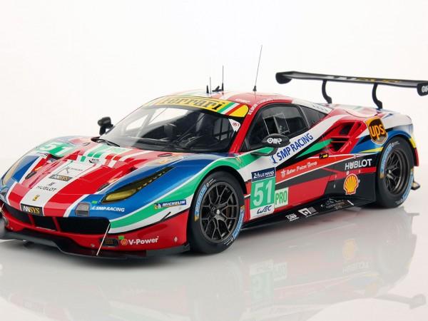Ferrari 488 GTE Le Mans Series 2016 #51 1:18