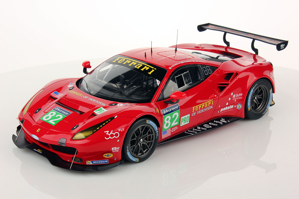 ferrari 488 gte le mans series 2016 82 1 18 looksmart. Black Bedroom Furniture Sets. Home Design Ideas