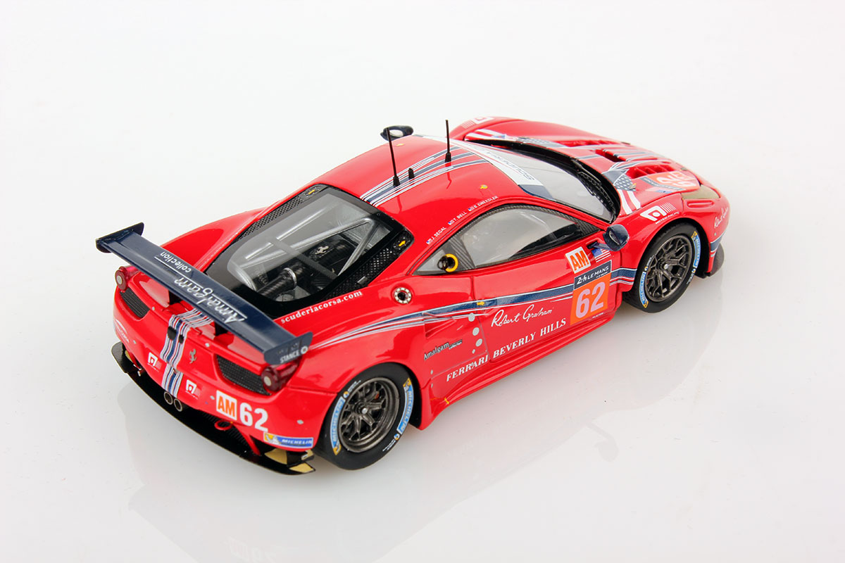 ferrari 458 italia le mans series 2016 62 1 43 looksmart models. Black Bedroom Furniture Sets. Home Design Ideas
