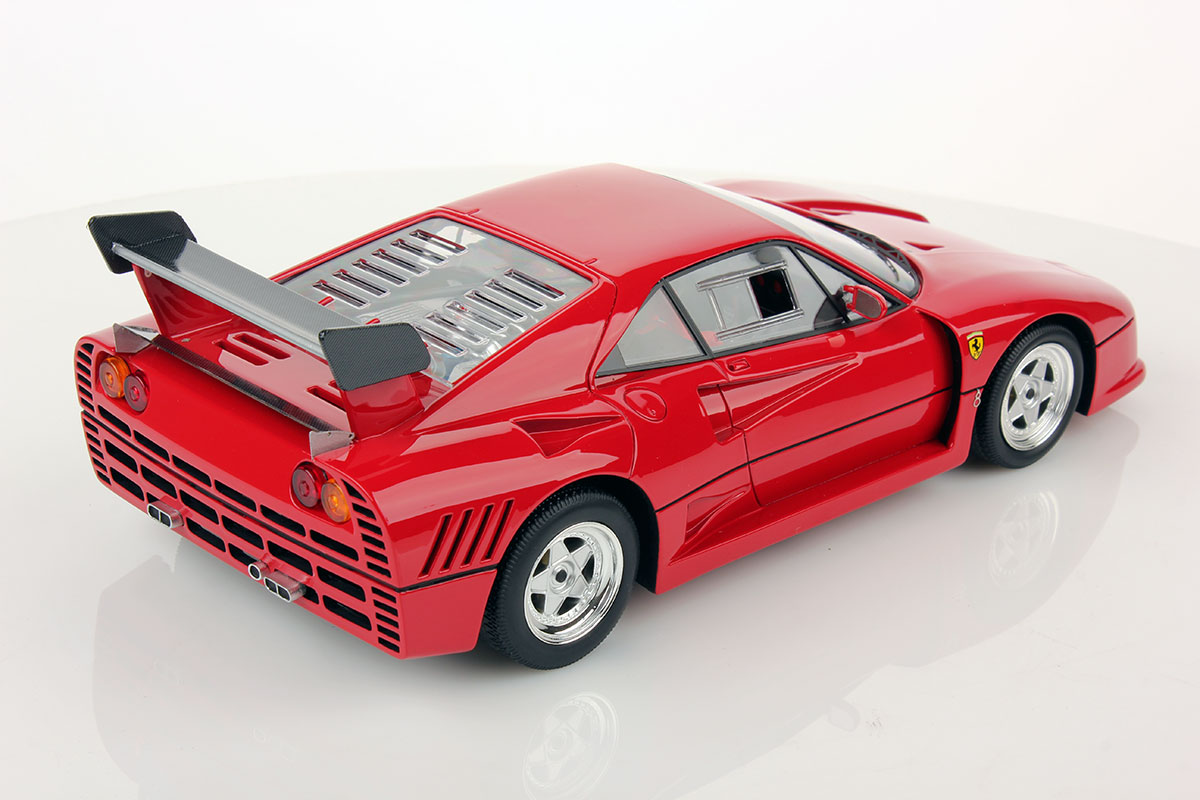 ferrari 288 gto evoluzione 1 18 looksmart models. Black Bedroom Furniture Sets. Home Design Ideas