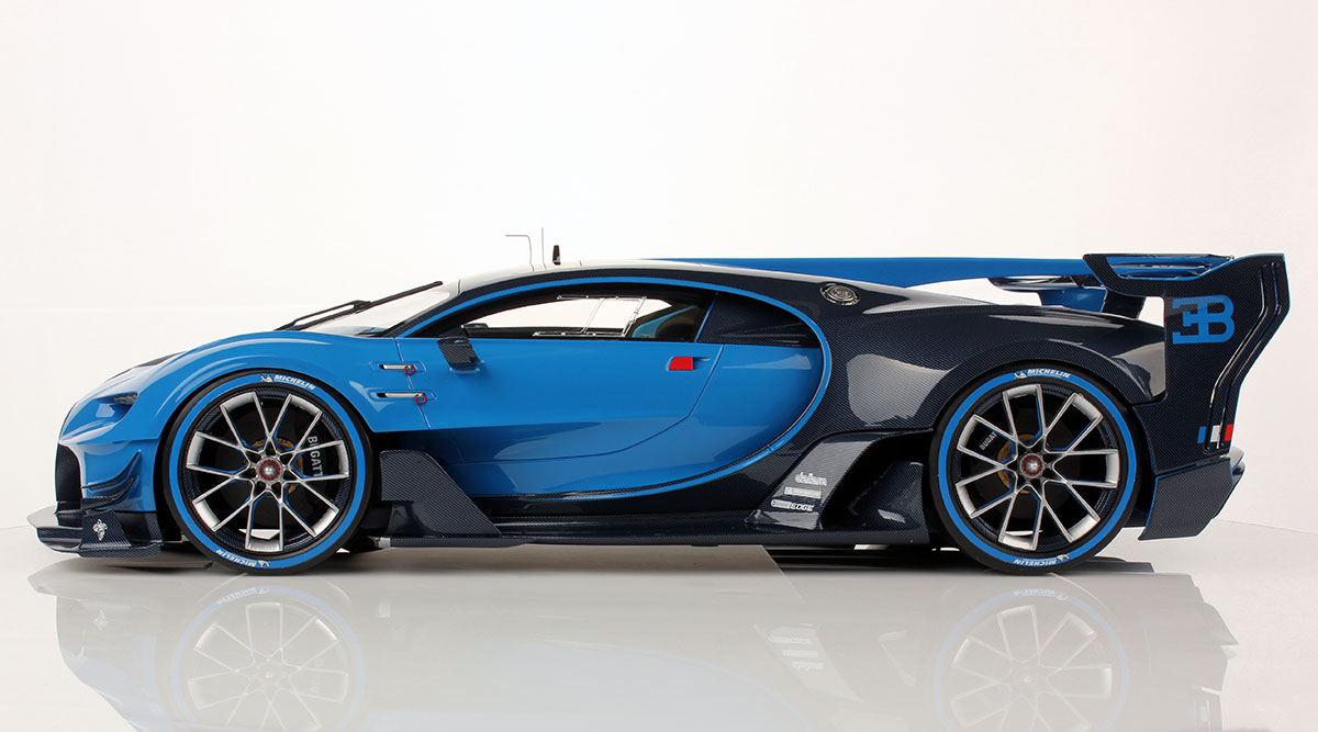bugatti vision gt 1 12 looksmart models. Black Bedroom Furniture Sets. Home Design Ideas