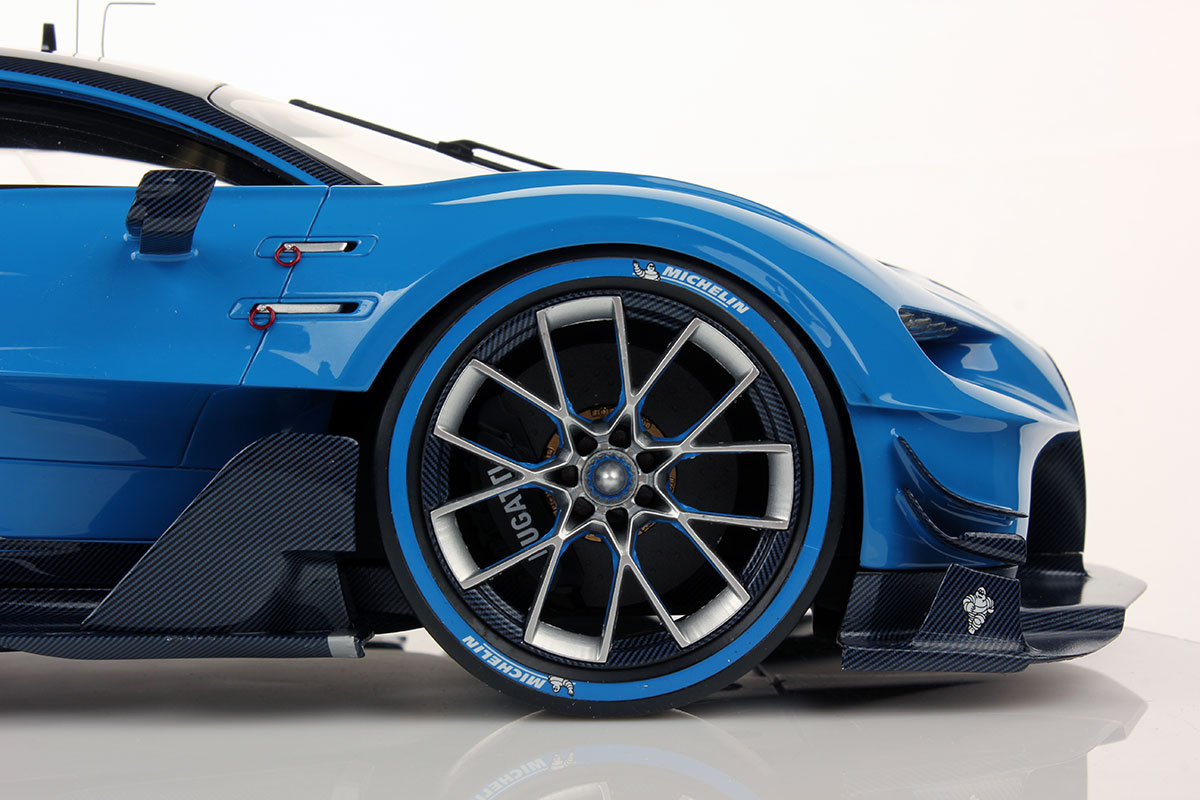 Bugatti Vision GT 1:12 | Looksmart Models on mitsubishi gt vision, subaru viziv gt vision, renault alpine gt vision, bmw gt vision,