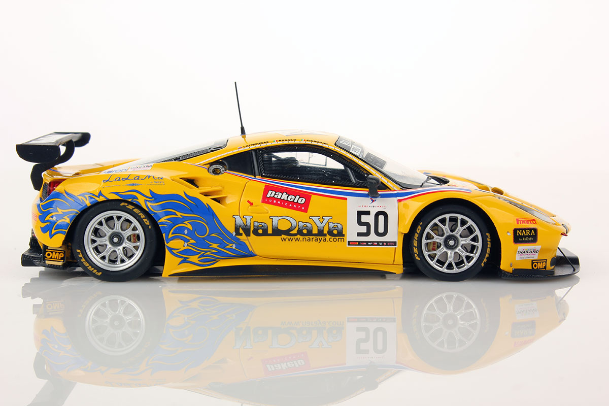 ferrari 488 gt3 spa 2016 50 af corse 1 43 looksmart models. Black Bedroom Furniture Sets. Home Design Ideas