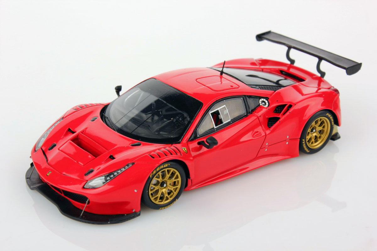ferrari 488 gt3 red 1 43 looksmart models. Black Bedroom Furniture Sets. Home Design Ideas