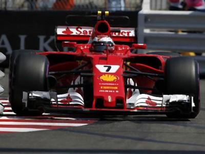FERRARI-SF70H-Monaco-GP-Kimi-Raikkonen-2nd-Place