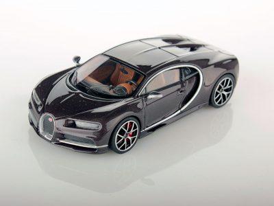 Bugatti Chiron 1:43 brown