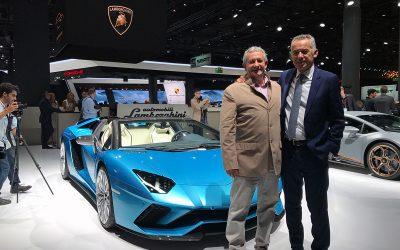 Lamborghini Aventador S Frankfurt Egidio Reali Maurizio Reggiani