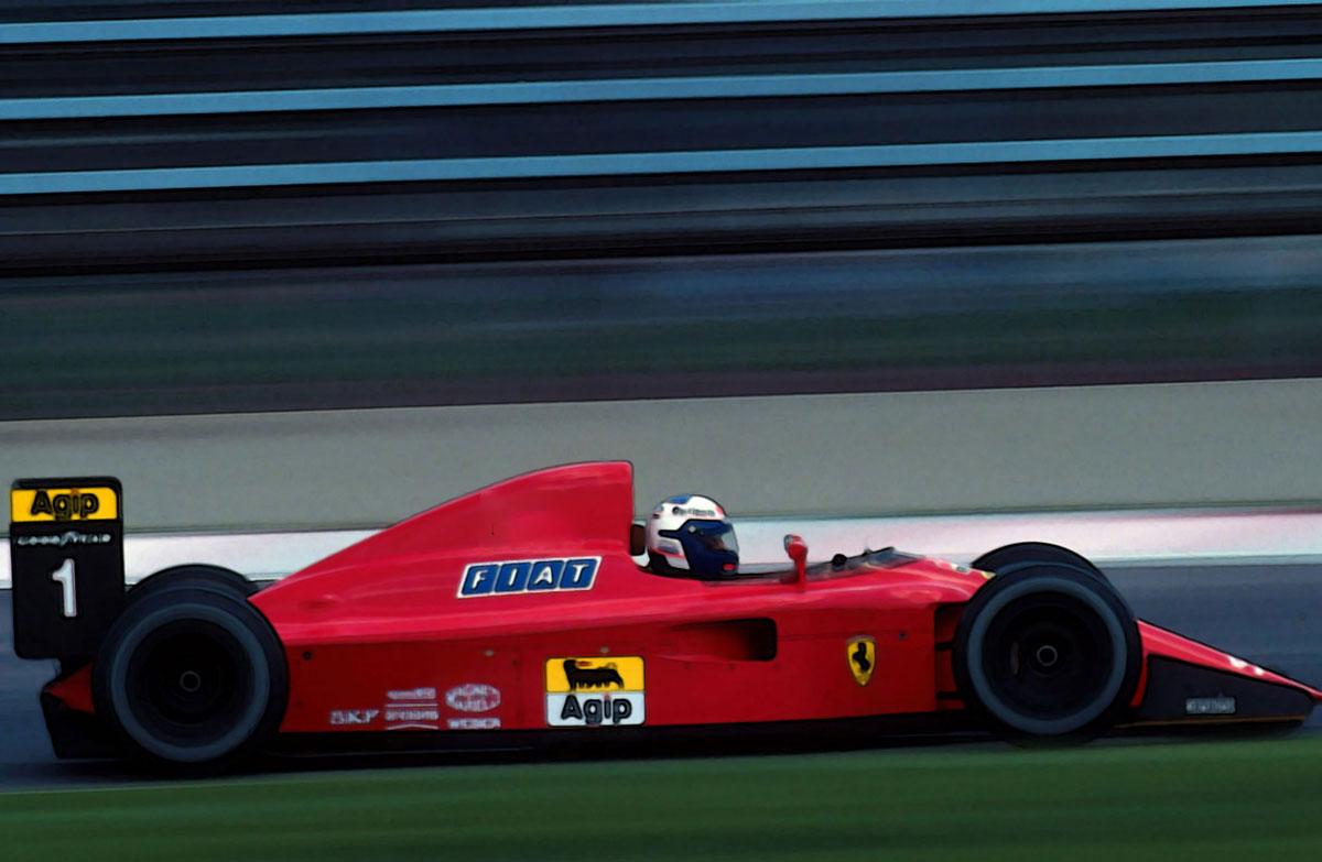 Ferrari F1 641 France 1990 100th Ferrari F1 Victory 1 18 Looksmart Models