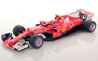 Ferrari SF70H Australian GP Kimi Raikkonen 1:18
