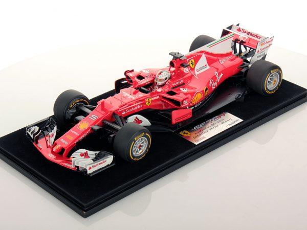 Ferrari SF70H Australian GP Vettel Winner 1:18