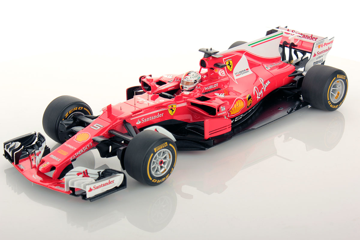 ferrari sf70h australian gp sebastian vettel winner 1 18. Black Bedroom Furniture Sets. Home Design Ideas