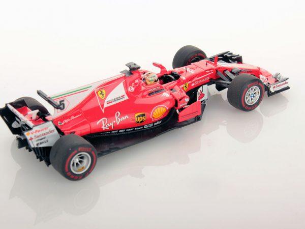 Ferrari SF70H Monaco GP Vettel Winner 1:43