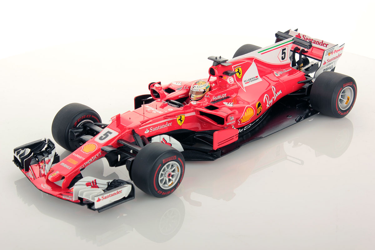 ferrari sf70h monaco gp sebastian vettel winner 1 18. Black Bedroom Furniture Sets. Home Design Ideas