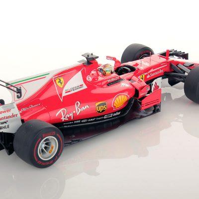 Ferrari SF70H Monaco GP Vettel Winner 1:18