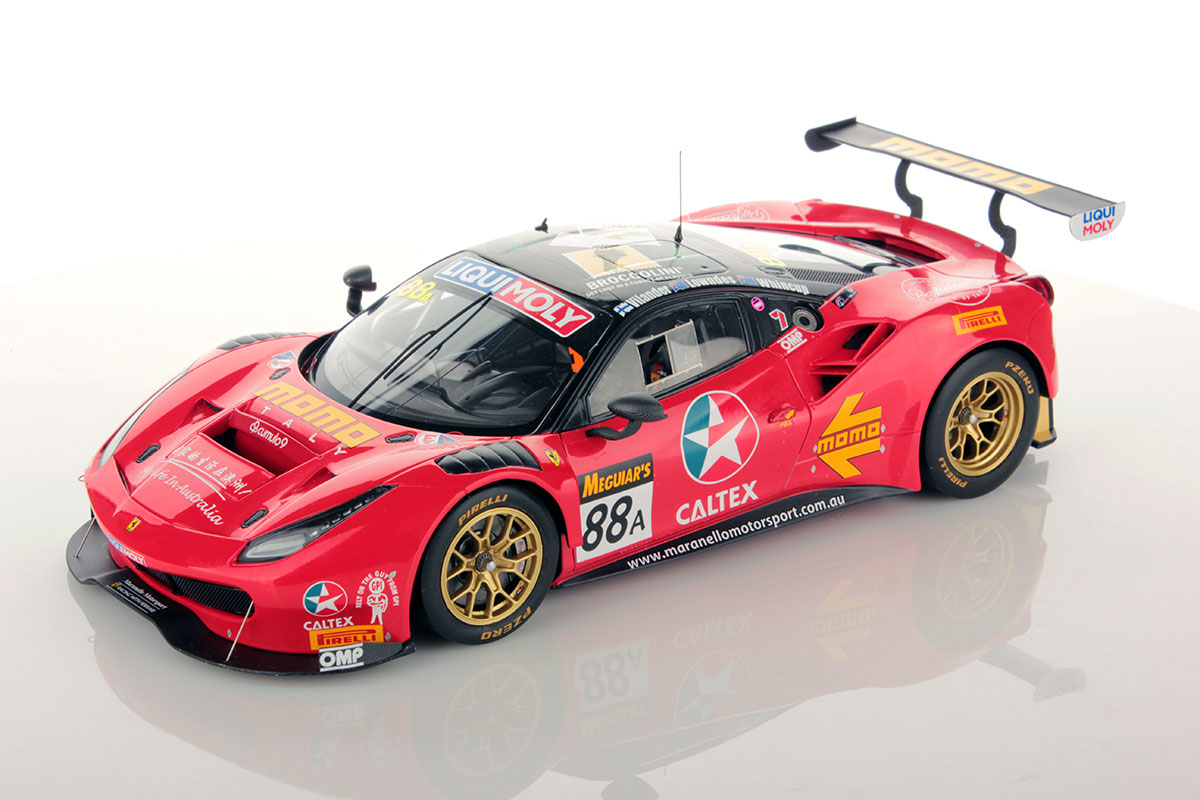 ferrari 488 gt3 bathurst 2017 1 18 looksmart models. Black Bedroom Furniture Sets. Home Design Ideas