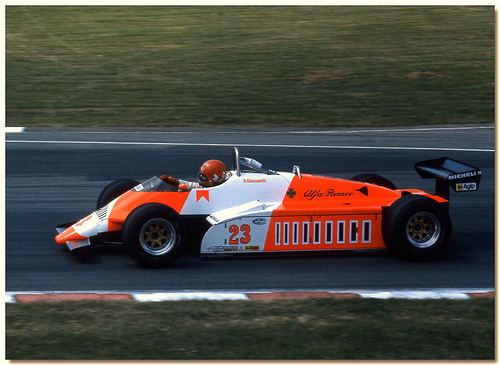Alfa Romeo 182 German GP 1982 Giacomelli Scale 1:18