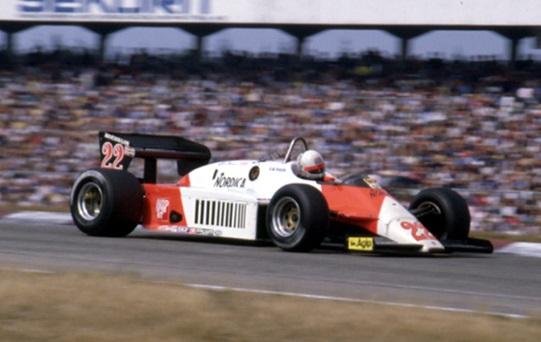 Alfa Romeo 183T German GP 1983 De Cesaris Scale 1:18