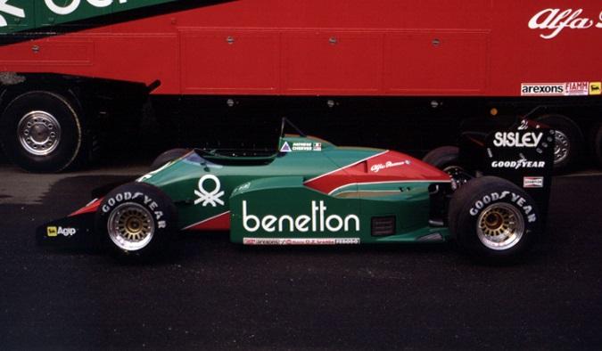Alfa Romeo 185T 1:18