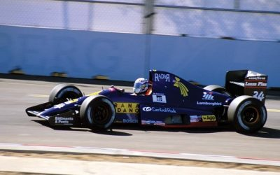 Lamborghini 291 F1 United States GP 1991