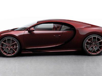 Bugatti Chiron Sky View 1:43