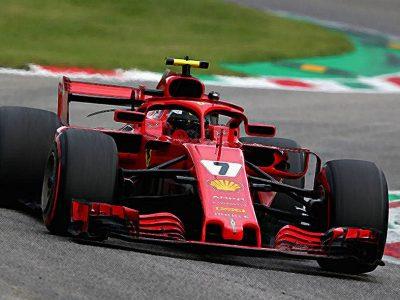 Ferrari SF71h Italian GP 2018 Kimi Raikkonen 2nd 1:18 1:43
