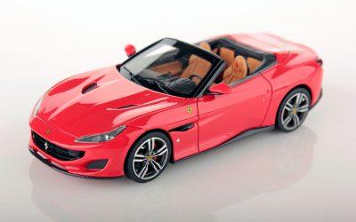 Ferrari Portofino open roof 1:43