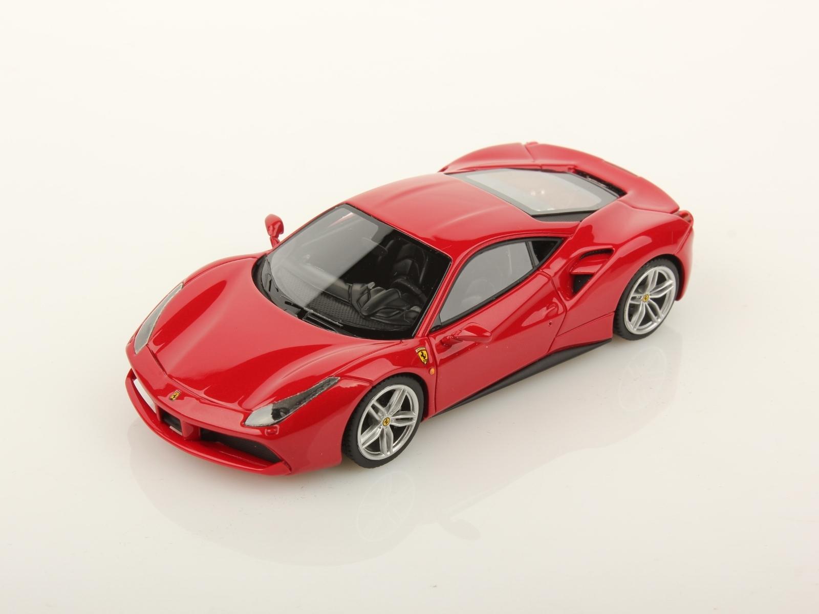 Ferrari 488 Gtb Geneva Motorshow 2015 1 43 Looksmart Models