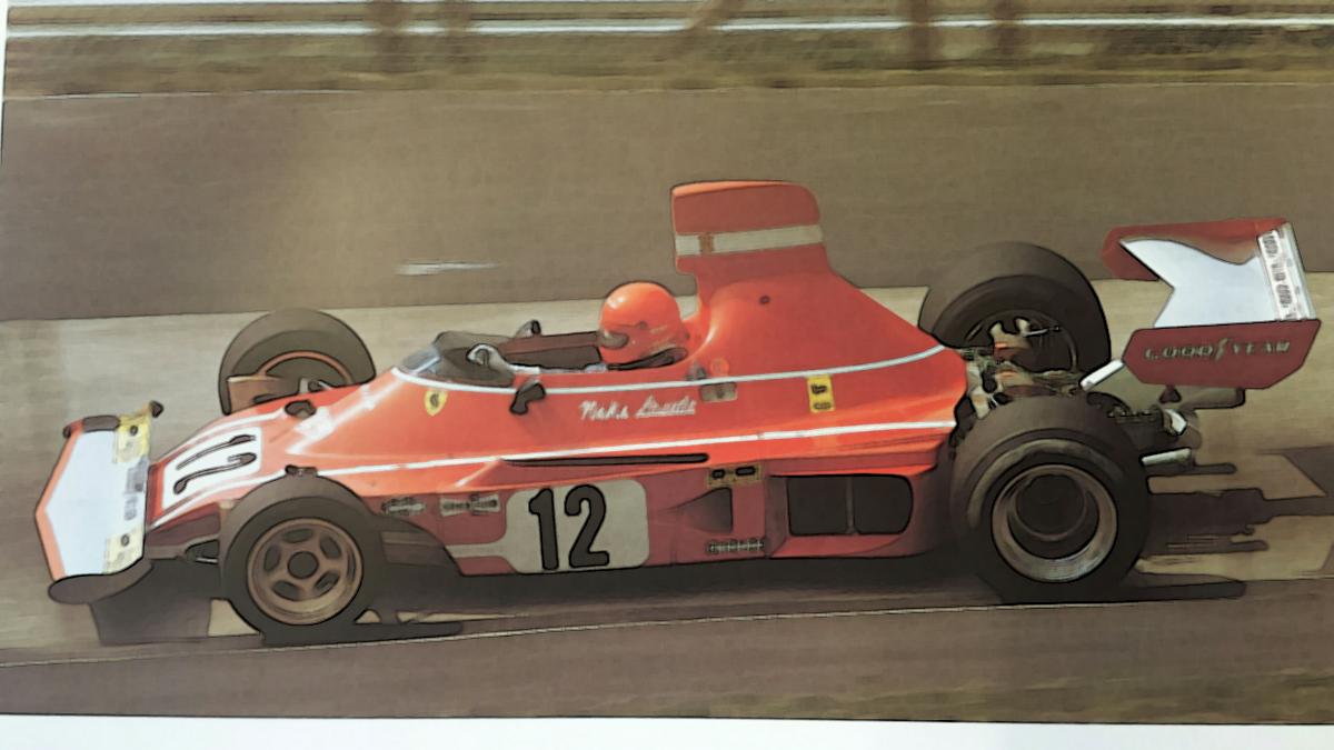 Ferrari 312 B3 1974 1 18 Looksmart Models