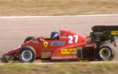 Ferrari 126 C3 Dutch GP 1983 P. Tambay 2nd Place scale 1:18