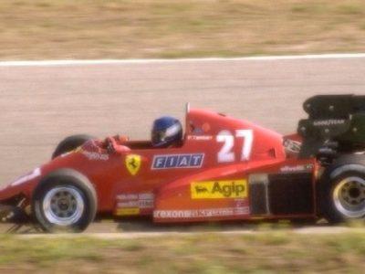 Ferrari 126 C3 Dutch GP 1983 P. Tambay 2nd Place scale 1:18