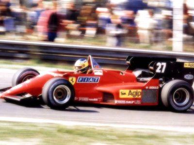 Ferrari 126 C4 Belgium GP 1984 M. Alboreto Winner scale 1:18